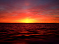 Red Sunset Water -3